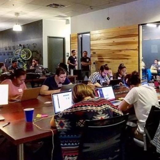 UCF Students, working at StarterStudio